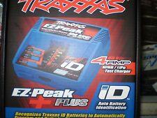 TRAXXAS 2970 EZ-PEAK PLUS ID AUTO BATTERY INDENTIFICATION 4AMP NIMH/LIPO NEW NIB