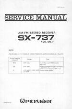 Service Manual-Anleitung für Pioneer SX-737