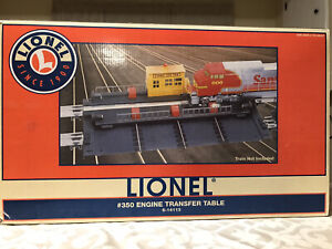 ✅ Lionel # 350 Engine Powered Transfer Table 6-14113