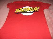 The Big Bang Theory Bazinga Jr Miss Small T-Shirt