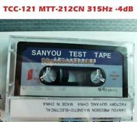 NEW 1pc Test Tape Replace For TCC-121 MTT-212CN 315Hz -4dB