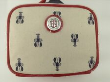Women's TOMMY HILFIGER Red White BLUE LOBSTER Cosmetic Bag - $32 MSRP - 10% off