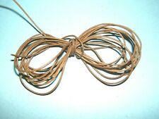 2m REAL LEATHER  1.5mm ROUND CROSS SECTION NATURAL TAN THONG HIDE CORD NECKLACE