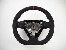 _ MAZDA RX8 Flat bottom Steering wheel Thumbs Lenkrad Volant ALCANTARA WITH RED