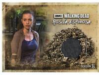 Walking Dead Season 8 Part 1 ROSITA ESPINOSA COSTUME RELIC Trading Card RC-RE