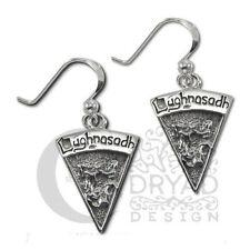 Dryad Designs Silver Sabbat  Lughnasadh Lammas Earrings by Paul Borda Wiccan