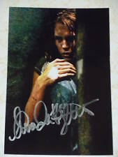 Amanda Righetti auto photo Friday the 13th O.C. signed