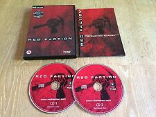 Red Faction, PC Game, Trusted Ebay Shop, Complete