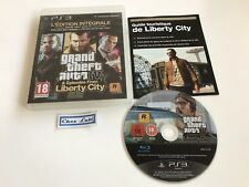 GTA Grand Theft Auto IV 4 & Episodes From Liberty City - PS3 - FR - Avec Notice