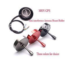 M8N GPS W/ Compass + CNC GPS Anti-interference Antenna Mount Holder F APM2.6 2.8