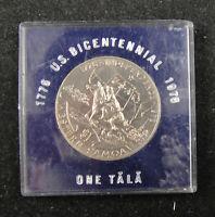 Western Samoa Coin $1 Tala 1976 UNC, INDEPENDENCE