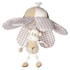 Peluches et doudous singes en tissu pour bébé