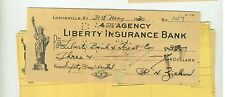 1930 Group of items Liberty Bank & Trust Louisville KY Kentucky Colonels link