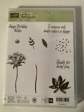 "New Stampin' Up! ""Avant Garden"" Photopolymer Stamp Set Retired"