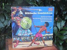 LP BIBLISCHE GESCHICHTEN (2) David und Goliath u.a. - EUROPA 1975 Hörspiel VINYL