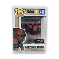 Funko Pop Games Fallout 76 #480 x-01 Power Armor Gamestop Exclusive 889698390361