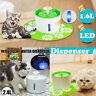 Automatic Electric Pet Water Fountain Dog/Cat Drinking Bowl Waterfall LED