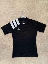 New Adidas Mens Running 3 Stripes Soccer Tee Training Gym