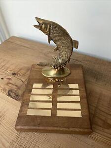 Quality Fishing Trophy.