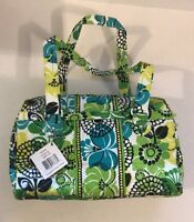 Vera Bradley Caroline Lime's Up Duffel Bag Purse NWT