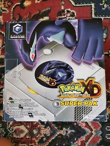 Nintendo GameCube Pokemon XD: Gale Of Darkness Console & games CIB