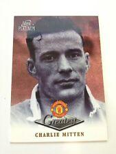 Manchester United Futera Platinum 1999 Greatest Card (CM)