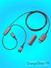 NEW! Plantronics Avaya Y Spliced Headset Training Cord #27019-03 QTY