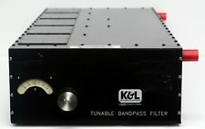 K&L Microwave Tunable Bandpass Filter 800-1500 MHz, 50W CW