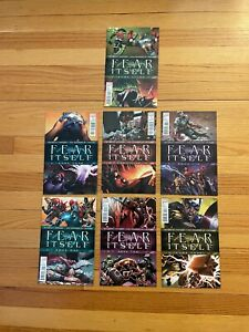 Fear Itself Limited Series Marvel Comics issues #1-#7 Complete Set 2011 5