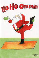 Ho Ho Ommm - Box of 12 Funny Christmas Cards by Nobleworks