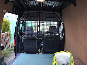 Steel Cage Bulkhead - Transit Connect 2012 LWB High Roof