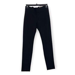ALFANI Core Essential Deep Black Leggings High Rise Slimming Womens Petite Small