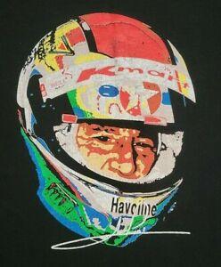 Mario Andretti 1994 T Shirt Size XL Mens Arrivederci Mario! IndyCar Le Mans CART