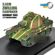 DRAGON 5.5CM ZWILLING FLAKPANZER GERMANY 1945 1/72 tank model finished