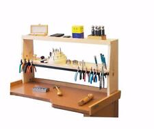 "35"" x 7-1/4"" x 17"" Bench Shelf Jewelry Tools ShelfMate Workbench Organizer"