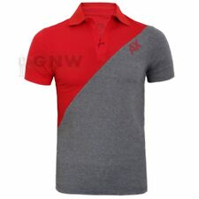 ARMANI EXCHANGE MEN'S SOFT SPANDEX MIX TWIN COLOUR POLO SHIRT S, M, L,XL,XXL NEW