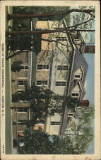 Clinton SC Home of Peace Thornwell Orphanage Linen Postcard