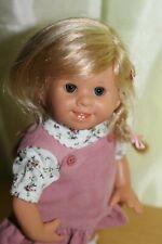 Rosemarie Anna Muller Wichtel artist doll Danielle 26 cm COA