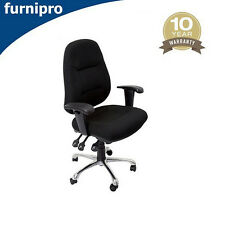 Office Furniture High Back Ergonomic Operator Chair- Free Delivery