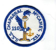 BOY SCOUT - SEA SCOUT SHIP 110 BADGE  - McCAMEY TEXAS
