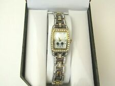 Disney Mickey Mouse Women's MK2043A Mother-of-Pearl Dial Two-Tone Bracelet Watch
