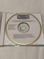 Playstation 2 Hardware Documentation CD - Acclaim Entertainment