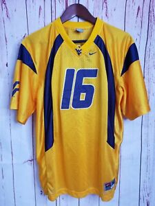 VTG Nike Team Youth WVU West Virginia Mountaineers College Football Jersey XL 16