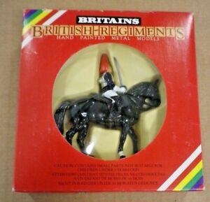Britains British Regiments  Mounted Royal Horseguard (1) - Set 7231 - MIB (1985)