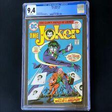The Joker #2 (DC Comics 1975) 💥 CGC 9.4 WHITE Pages 💥 Batman Comic