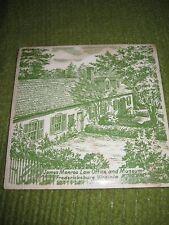 Original JAMES MONROE MUSEUM Fredericksburg Virginia Ceramic Tile 6X6 Trivet 203