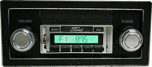 1980 - 1986 Ford Truck Am/Fm Radio USA 230 Aux MP3 Custom Autosound