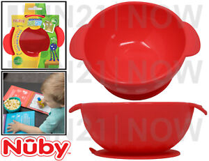 Nuby Baby Snack Mat Silicone Non Slip Bowl Placemat Suction Table Plate Tray 6m+