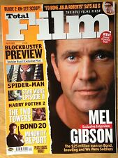 Total Film Magazine Issue #63 April 2002: Mel Gibson + Blockbuster Preview cover