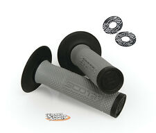 Scott SX2 Handlebar Grips -GREY/BLACK- with DONUTS Motocross MX Motorcycle SXII